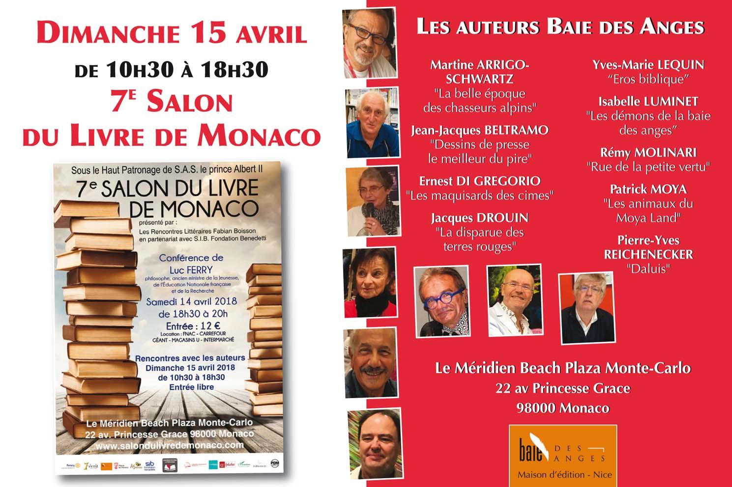 rencontres littéraires monaco